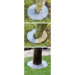 Afdektextiel voor boompjes, struiken, stammetjes - 30 cm diameter