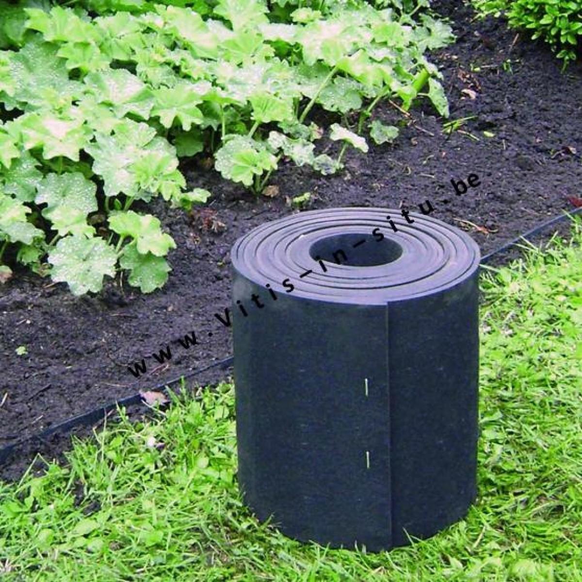 Rubberen grasboord 5m x 13 cm - Alle tuin ...