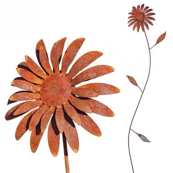 bloem-metaal-zonnebloem
