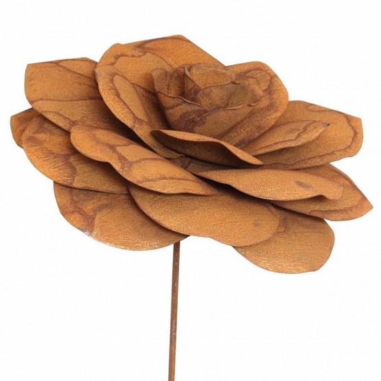 bloem-metaal-roos