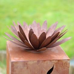 Chrysantbloem-metaal