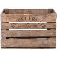 Fruitbak in hout - VINTAGE