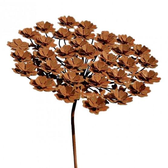 bloem-metaal-hortensia
