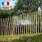 haag van kastanjehout van 1,75 m (H) x 5 m (L)