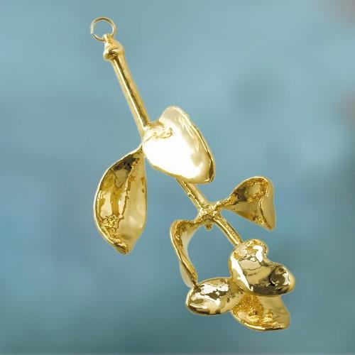 maretakblad-goudmetaal