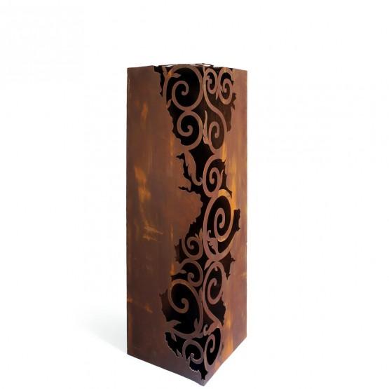 metalen kolom - hoekmodel 34 x 34