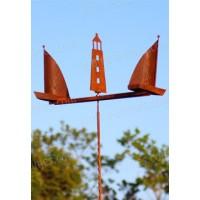 Windmobiel met zeilbootmotief