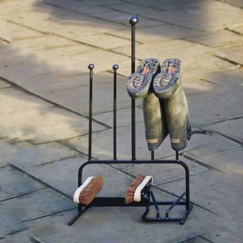 Opbergrek voor laarzen in smeedijzer