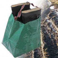 opbergtas voor vuile laarzen en schoenen