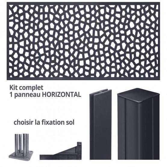 wandpaneel MOZAIEK horizontaal 2 x 1 m