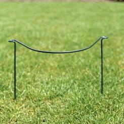 Plantensteun halve cirkel - lot van twee stuks - hoogte 120 cm