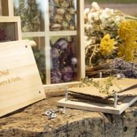 presse-papier voor het drogen van bloemen en kruiden