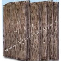 Acaciascherm 90 x 180 cm - 10 stuks
