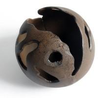 Bolvaas in gietijzer klein - 15 cm