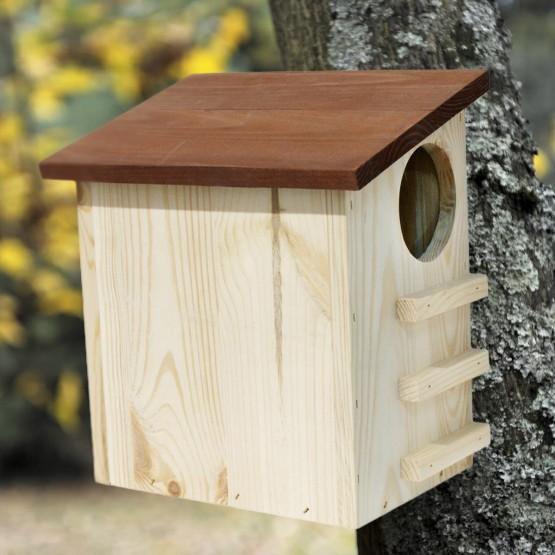 Eekhoornhuisje hout