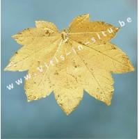 Esdoorn/Ahornblad in goud - 24 karaat