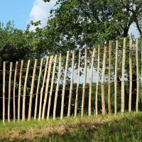 haag van kastanjehout van 0,9m (H) x 3m (L)