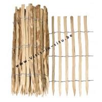haag van kastanjehout van 1,2 m (H) x 2,5 m (L)