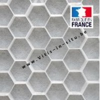 honingraattegel voor grint 120 x 80 cm / WIT