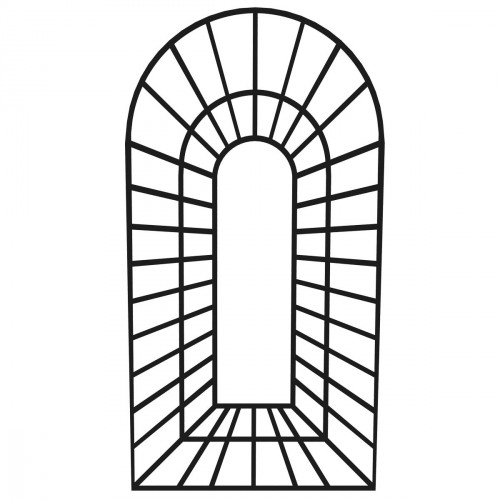 "houten kader "" TROMPE D'OEIL"" - oogmisleiding"
