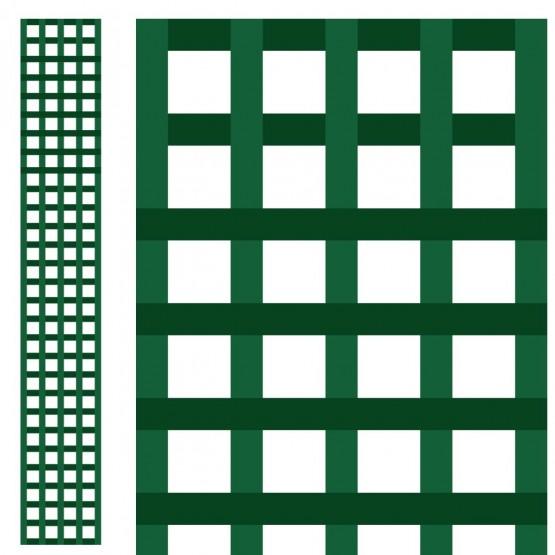houten paneel 0,3 x 2m - vierkant gerasterd 47 mm