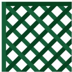 houten paneel 1 x 1,5m - diagonaal gerasterd 47mm