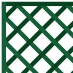 houten paneel 1 x 1,5m - diagonaal gerasterd 75mm