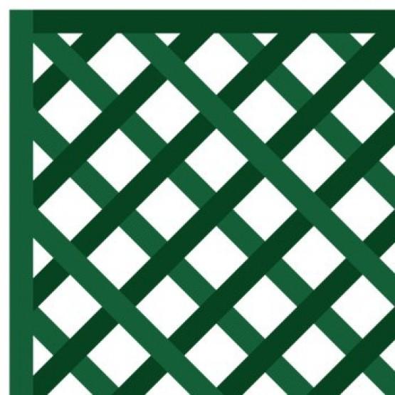houten paneel 1 x 2 m- diagonaal gerasterd 47mm