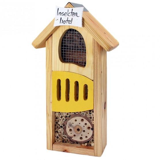 Insectenhotel - Geel