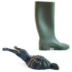 Laarzen-uittreksteun - in de vorm van een slak