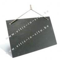 Leisteen bord 30 x 20 cm - set van 3 stuks