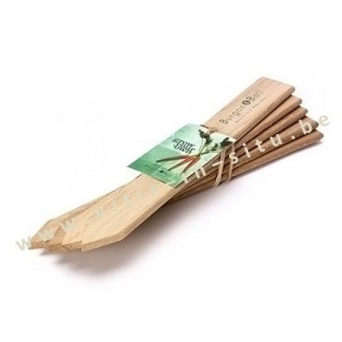 Naamkaartjes groot in FSC hout