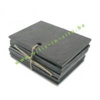 naamkaartjes in leisteen 30 x 100mm - set van 10 stuks