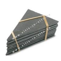 Naamplaatjes in leisteen 75 X 105mm X10