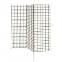 Paraventscherm 3 panelen van 150 x 50 cm