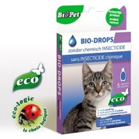 Pipet Bio-Drops voor katten - anti parasieten