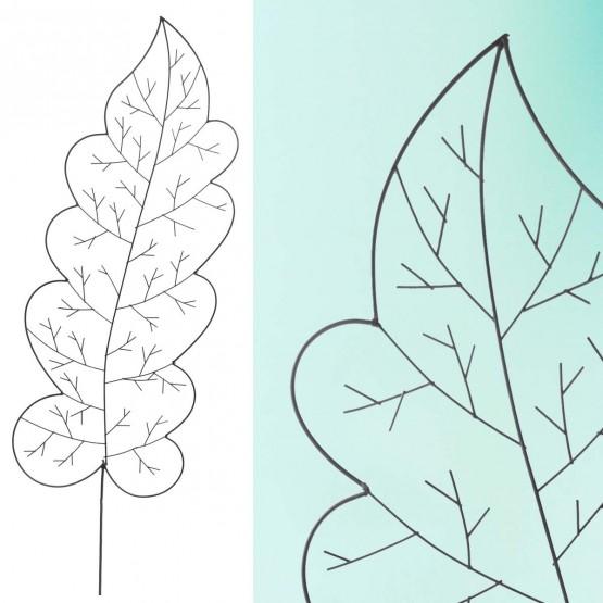 Plantensteun eikenblad x 1 - 150 cm