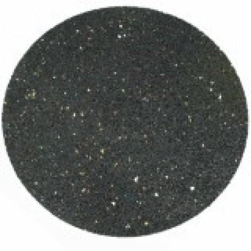 Ronde rubberen tegel 32 cm diameter ZWART