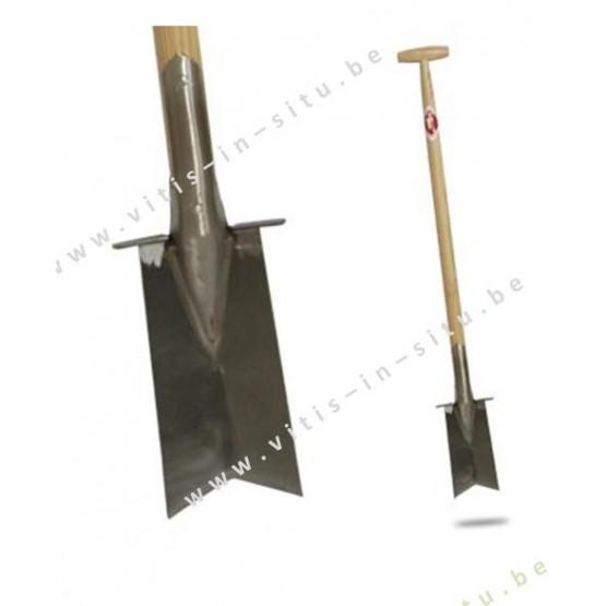 spade met inkeping - SNEEBOER