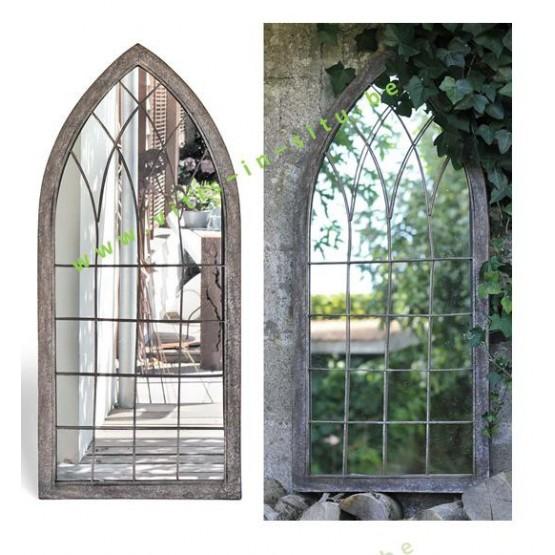 spiegel voor in de tuin