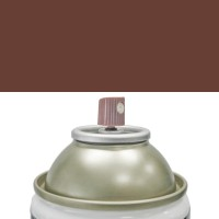 spuitbus bruine verf RAL8017