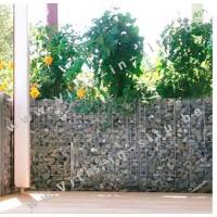 Steenkorf als muurwand 120 cm