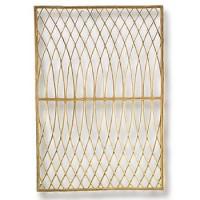 tuinscherm acacia arabesque 0.8 x 1.2 m