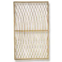 tuinscherm acacia arabesque 0.9 x 1.5 m