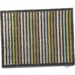 vloermatje groen/kastanje - 65x85 cm