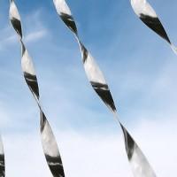 Vogelverschrikker mobiel alu - set van DRIE