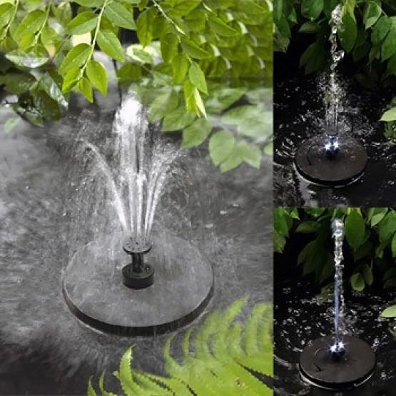 Waterpomp/fontein met zonnepaneel - 300W