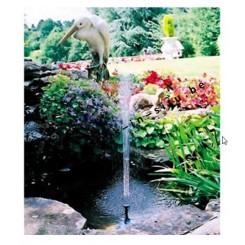 Waterpomp/fontein met zonnepaneel - 500W