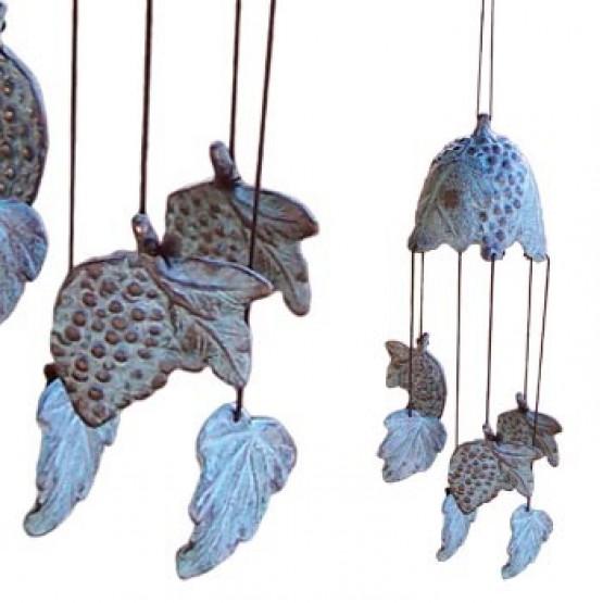 Windgong brons druif