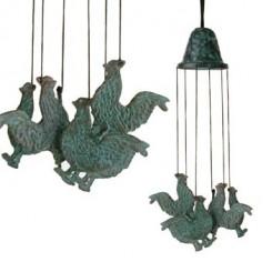 Windgong brons haan